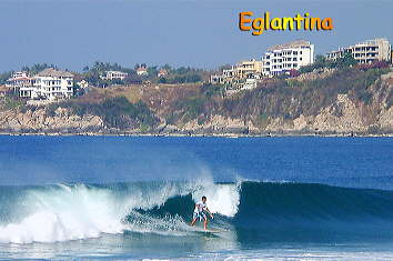 Eglantina condo and surfer
