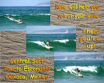 Central Surf surfing lessons
